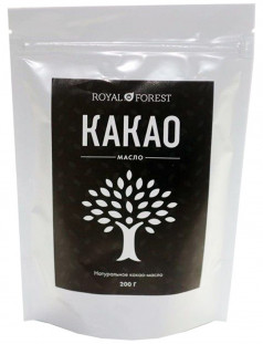 Royal Forest Какао-масло натуральное 200гр