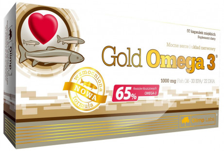 Olimp Labs Gold Omega 3 1000 мг (60 кап)